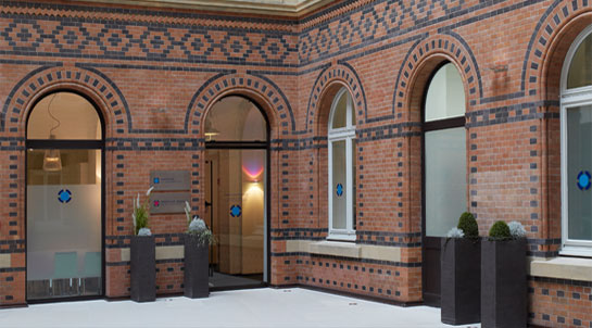 Zahnarzt Hamburg Innenstadt - Eingangsbereich von ZAS