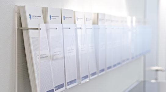 Zahnärzte am Stephansplatz in der Hamburger Innenstadt - Informationsmaterial